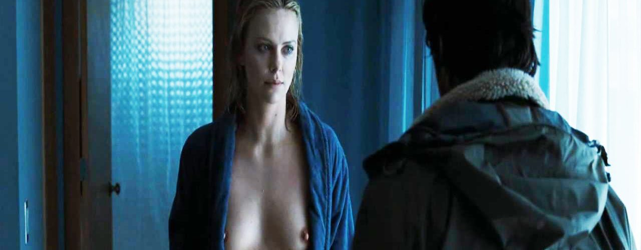 Nude charlize theron Yahoo is